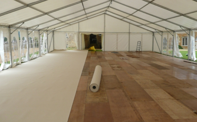 Flooring Skyline Tent Event Rental